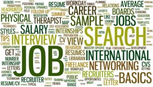 resume writing service job search wordcloud